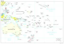 Blank Map Of Oceania by Maps Of Australia And Oceania Oceanian Countries Beauteous Map