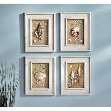 29 beach crafts coastal diy wall art seashell wall decor bathroom
