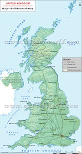 Map Of Ireland And England Uk Rail Map Uk Rail Network Map
