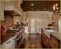 Kitchen Wallpaper Backsplash Kitchen Brick Backsplash Set Kitchen Set Kitchen Design With