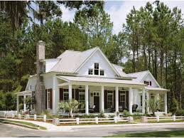 Single Story House Styles One Story Barn Style House Plans Arts Single Ranch With Porches