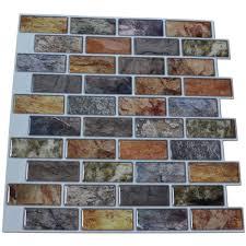 art3d peel and stick kitchen backsplash tile 12in x 11in pack of 6