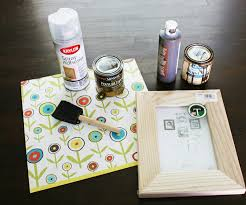 using paper to decorate a frame stacy risenmay