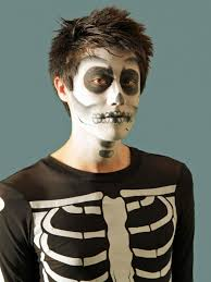 halloween makeup tutorial skeleton hgtv