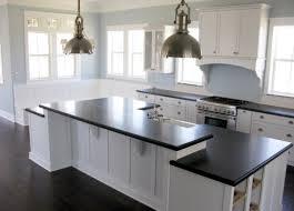 Dark And White Kitchen Cabinets Dark Kitchen Floors With White Cabinets Design Ideas Adorable