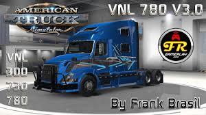 680 volvo truck volvo vnl 780 truck shop v3 0 ats 1 6 x by frank brasil mod