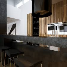black kitchen island breakfast bar interior design ideas
