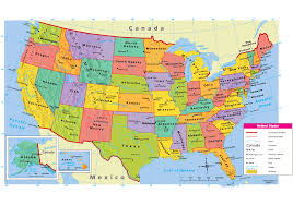 Political Map Of United States And Canada by U S Geography This Is Our History