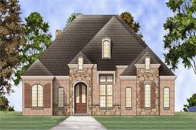 Hip Roof Ranch House Plans Southern Country Home With 3 Bdrms 2365 Sq Ft Floor Plan 106