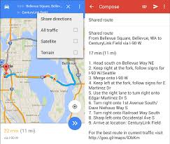 Fgoogle Maps How To Share Directions In Google Maps For Android Android Central