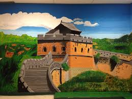 great wall of china mural china2 china3 china4