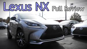 lexus nx awd mpg 2017 lexus nx full review nx 200t f sport u0026 300h hybrid youtube