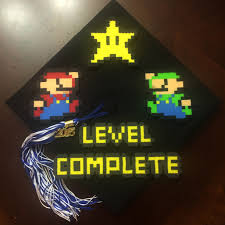 Super Mario Home Decor by Graduation Cap For Twins Pinterest Cap Twins And