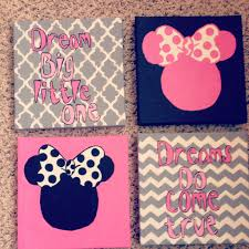 minnie mouse wall art for toddler room kids pinterest