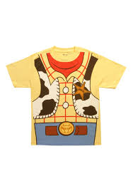 toy story woody costume shirt men