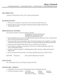 Gallery Resume Objective Statements