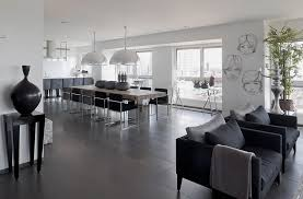 Grey Interior Modern White And Gray Apartment Interior Design By Lanciano Design
