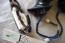 lexus sc300 jdm window visors lexus sc300 sc400 toyota soarer jzz30 power folding mirror switch