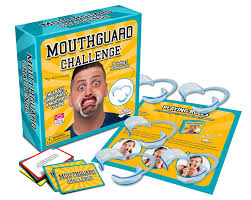 amazon com mouthguard challenge game family and party game