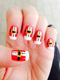 santa nails nails pinterest santa nails