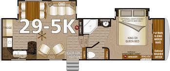 Fifth Wheel Bunkhouse Floor Plans Northwood Arctic Fox Fifth Wheels