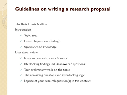 Scientific Research Proposal Ideas   eHow