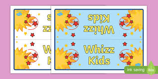 kids group table sign signs labels classroom sign