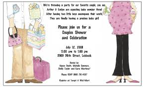 couples baby shower invitation wording ideas theruntime com