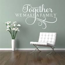 swirly etsy together make family decal vinyl wall lettering decals