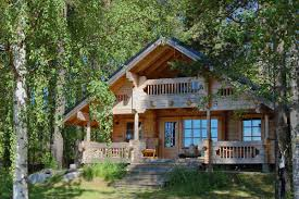 A Frame Cabin Floor Plans With Loft I Also Love Log Cabins This Is A Nice Combination Of Bungalow And