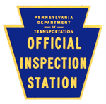 Pennsylvania Department of Transportation Official Inspection Station