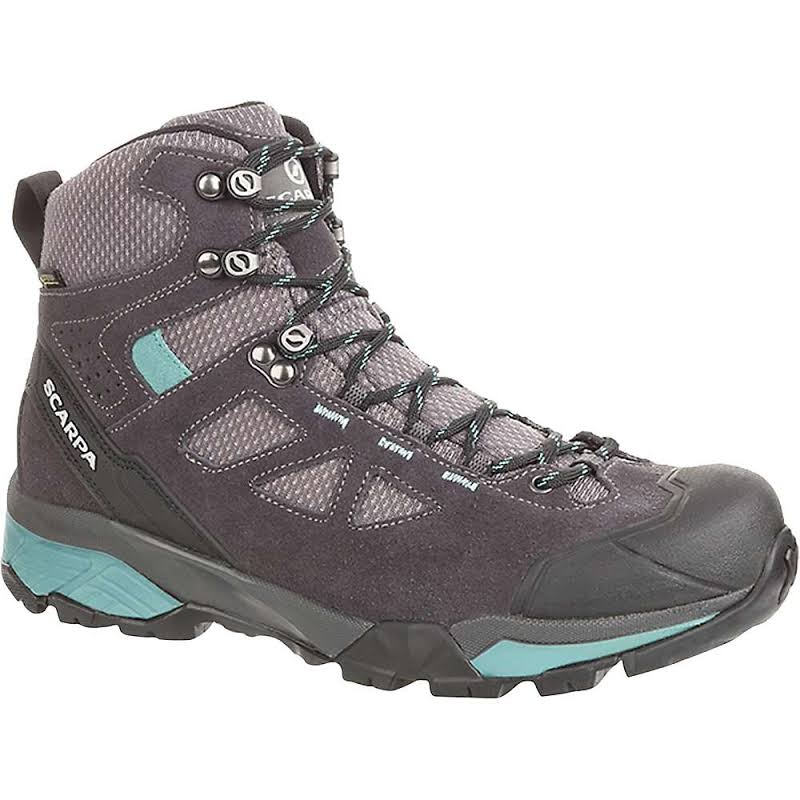 Scarpa ZG Lite GTX Shoes Dark Grey/Lagoon Medium 38.5 67080/202-DgryLag-38.5