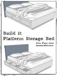 Build Diy Platform Bed by Free Plans To Build A Cal King Platform Storage Bed Feelin