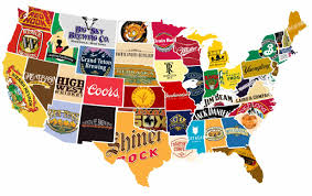 Unite States Map by 23 Funny And Interesting Maps That Show Just How Weird America