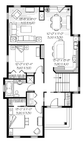 One Level Home Plans Basic House Plans Floor 1 Story Home With O On Ideas