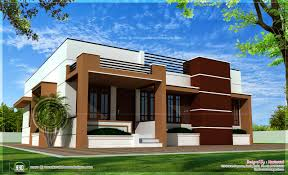 single storied contemporary house kerala home design and 1 floor