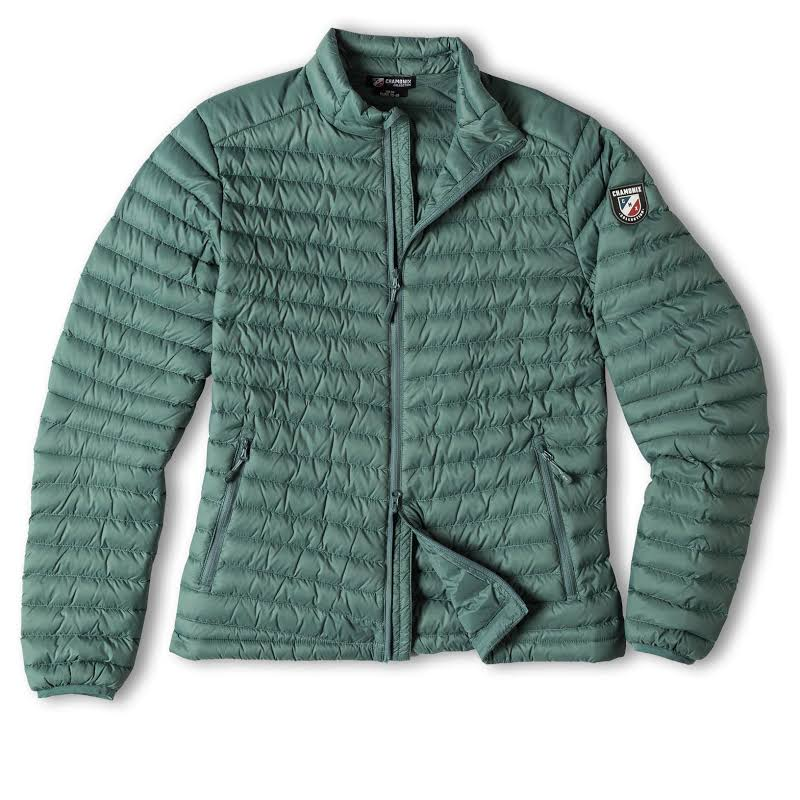 Chamonix Cailly Down Jacket Silver Pine Womens
