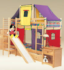 Bunk Beds With Slide And Stairs Etraordinary Pink Bunk Beds With Stairs Creative Furniture Home
