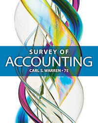 survey of accounting 7th edition 9781285183480 cengage
