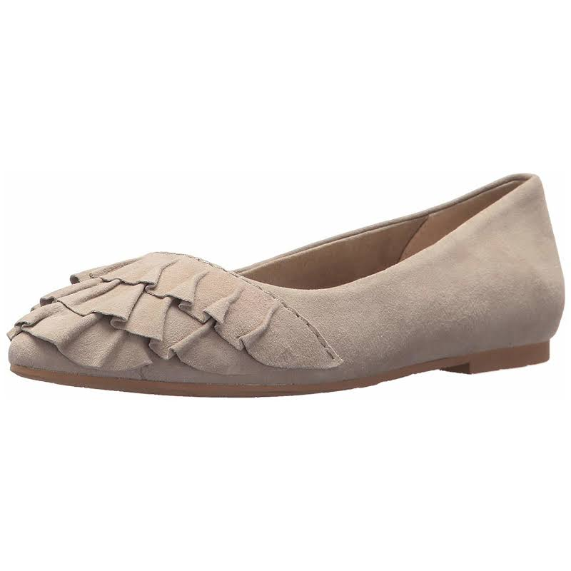 Seychelles Downstage Taupe Ballet Flats