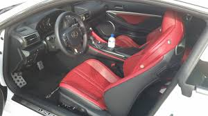 lexus rc red interior jeffcars com your auto industry connection 2015 lexus rc f the