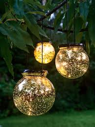 Outdoor Mushroom Lights by Battery Operated Globe Lights Led Fairy Dust Ball Mercury Glass