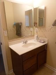 Bathroom Mirror Ideas On Wall Oil Rubbed Bronze Mirrors Bathroom W Led Lighted Wall Mirror In