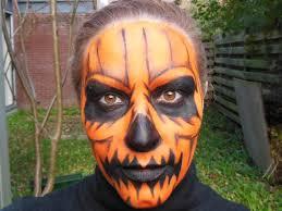 Halloween Male Makeup Quick And Easy Halloween Pumpkin Makeup Tutorial Youtube