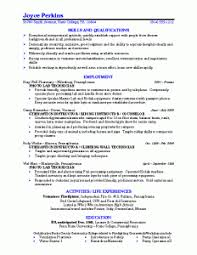 Qualifications Resume Example by Sample Resume College Graduate Counseling Psychologist Sample