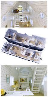split level bedroom gooseneck 3 bedrooms family tiny house