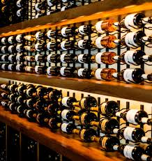 vintageview metal wine racks make a great commercial wine display