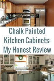 How To Clean Painted Kitchen Cabinets Chalk Painted Kitchen Cabinets 2 Years Later Chalk Paint
