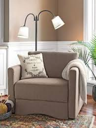 oversized chair with twin sleeper perfect for the office when