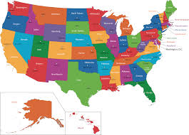 Time Zone Map Usa With Cities by Time Zone Map Of The United States Nations Online Project Time